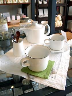 白山陶器 オネスト ポット コーヒーカップ&ソーサー マグ フリースタンド