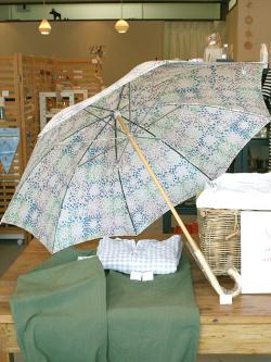 アンキャシェット Encachette フルーリアンブレラ 晴雨兼用日傘 防水加工 UVカット加工