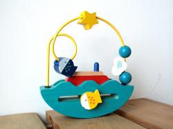 木のおもちゃ ゆらゆらボート エド・インター