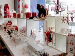 クリスマス商品店内