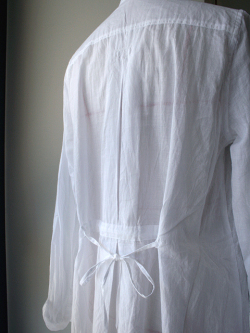 Encachette アンキャシェット エアリーロングシャツ